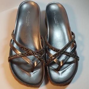 A. Giannetti sandals sz 9